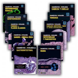 Pack 10 libros Diagnóstico en Patología
