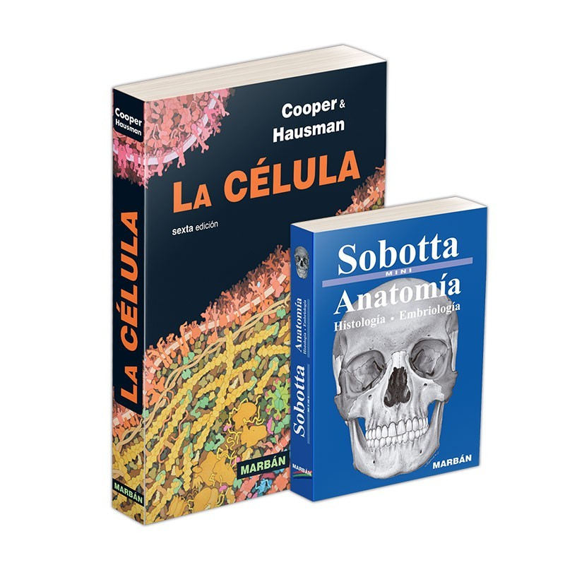 Cooper + Sobotta - La Célula 6ª ed. + Sobotta Mini Anatomía
